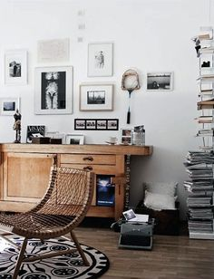 French By Design: At home with Alessandra #interior #house #decor #living #furniture #vintage