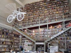 Flavorwire » The 20 Most Beautiful Bookstores in the World #lisbon #bookstore #ler devagar