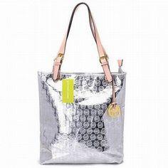 Michael Kors Jet Set Item Tote Silver #bags