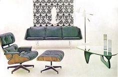 WANKEN - The Blog of Shelby White » Chairs of Mid-Century Modern #modern #chair #vintage #lounge #midcentury #eames
