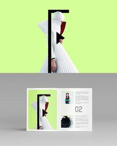 FASHIONB - Fashion blog and magazine design by agency Pixelinme.