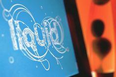 Liquid - Buzzsgraphics #buzzsgraphics #water #swirl #liquid #illustration #drop #blue #typography