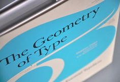 The Geometry of Type #type #stephencoles #typography