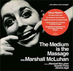 The Medium is the Massage CD reissue artwork #mcluhan
