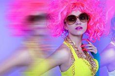 ACID on the Behance Network #model #styling #pink #acid #rolando #mata #fashion #angulo #david #neon