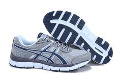 Mens Asics Gel Quik 33 Grey White Blue Shoes #shoes