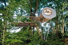 Treehouse Djuren in North Germany #design #architecture #treehouse