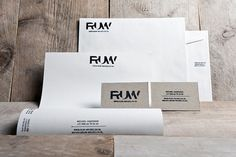 RUW on the Behance Network #wood #concept #identity #ruw #logo