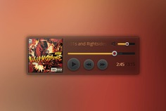Simple music small widget Free Psd. See more inspiration related to Music, Buttons, Psd, Simple, Control, Player, Horizontal, Widget and Small on Freepik.
