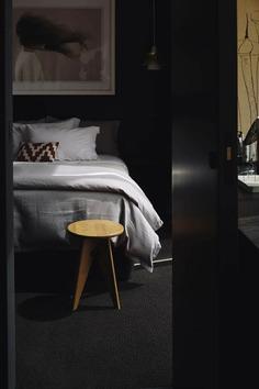 bedroom, Mountain retreat, Fearon Hay Architects, New Zealand