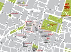 Stadtplan Brienner Quartier #pistola #stadtplan #handlettering #fischer #rose #brienner #mnche #illustration #maria #quartier