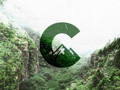 C Logo / Mark / Mountains by Teodor Decu