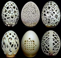 Eggshell Carvings by Gary LeMaster | Oddity Central - Collecting Oddities
