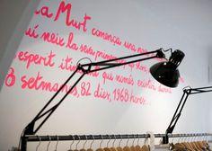 Sita Murt / Sita Murt Pop Up Store identity / Fashion #fashion #drawn #hand #neon