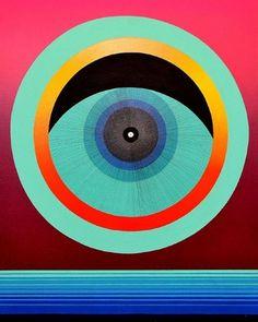Amazing Paintings by Mark Warren Jacques | -::[robot:mafia]::- .ılılı. electronic beats ★ visual art .ılılı. #mark #jacques #eye #illustration #warren