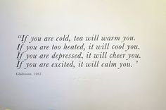 : Photo #quote #tea