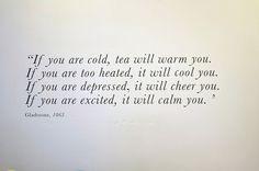 : Photo #quote #tea