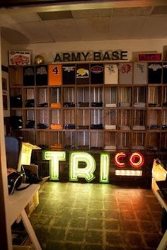 Tri Co #sign #light #motorcycle #typography