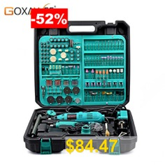 GOXAWEE #2Pcs #Electric #Mini #Drill #Dremel #Style #Rotary #Tool #Variable #Speed #with #Accessory #Power #Tools