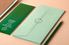 Strata #menu #identity #food #print #bakery
