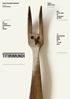 Poster // Flyer / CDN 2011 2012 : Isidro Ferrer