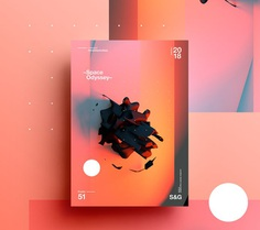 Show & Go | Poster Collection 2018 | Month 3 on Behance