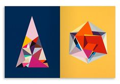 Creative Review - It's Nice That 6 #colors #geometric