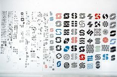 Lance Wyman, Syntex logo research