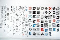 Lance Wyman, Syntex logo research