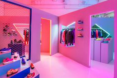 store, color, neon