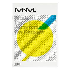 MNML on Editorial Design Served #publication #cover #minimal #editoral #mnml