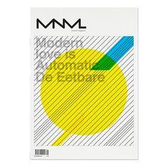 MNML on Editorial Design Served