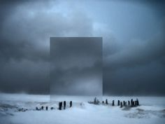 Winter is coming (back). #photography #winter #snow #photo manipulation #square #cool #cold