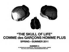 comme-des-garcons-homme-plus-summer-2011-skull-of-life-1.jpg 1024×768 pixels #des #fashion #skull #comme #garcons