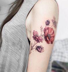 31 Brilliant Shoulder Tattoos For Women