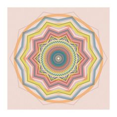 ANNE LEE DESIGNS. #kaleidoscope #abstract #pattern #design #graphic #geometric #colorful