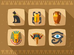 Ancient Egypt, have a very very inspiring art.