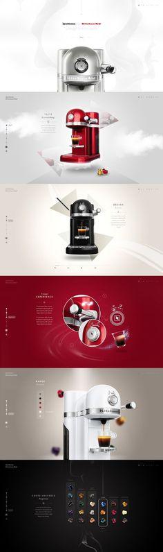Nespresso by Kitchenaid by Steve Fraschini #layout