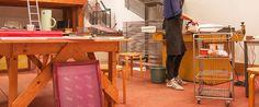 Volg een workshop en ga zelf aan de slag bij gezeever #gezeever #antwerpen #werkplaats #zeefdruk