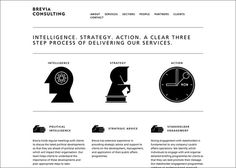 Creative Review   Brevia Consulting brand identity