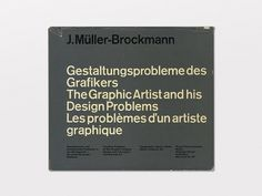 The Graphic Artist and his Design Problems #muller #retro #book #grid #vintage #layout #editorial #brockmann