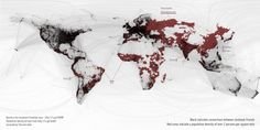 All sizes | facebook vs. the rest of the world | Flickr - Photo Sharing! #infographic #informational #graphic #map