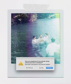 #Love #baptism #Jesus #water #polaroid