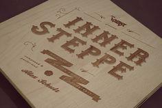 V Y Z O R #wood #typography