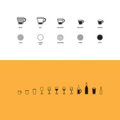 IconsA.jpg #wine #coffee #icons #diagram