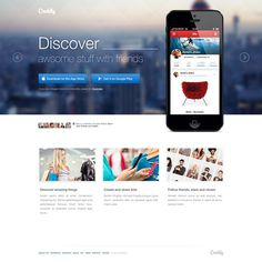 Creddly_landing_page #website #layout #web