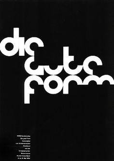 Poster by Armin Hofmann #design #graphic #armin #poster #hofmann