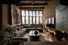 Wabi Sabi Apartment, Sergey Makhno Architects