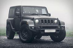 Chelsea x Kahan Jeep Wrangler Black Hawk