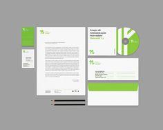 Grupo de Comunicação Novembro – Identity on Behance #group #branding #portugal #eleven #identity #novembro #stationery #november